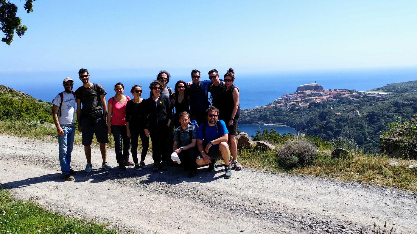 Camminando nell'isola di Capraia