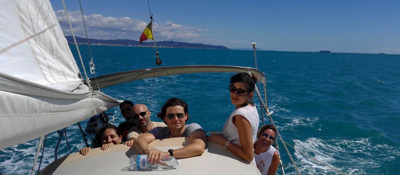 Vacanza in barca a vela Asd Girasole Livorno