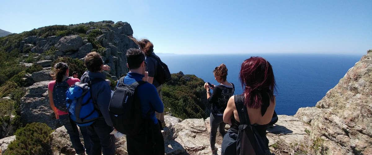 Pasqua 2019  vela e trekking in Capraia