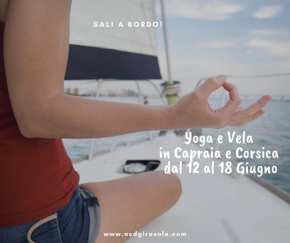 Yoga e Vela in Capraia e Corsica dal 12 al 18 Giugno