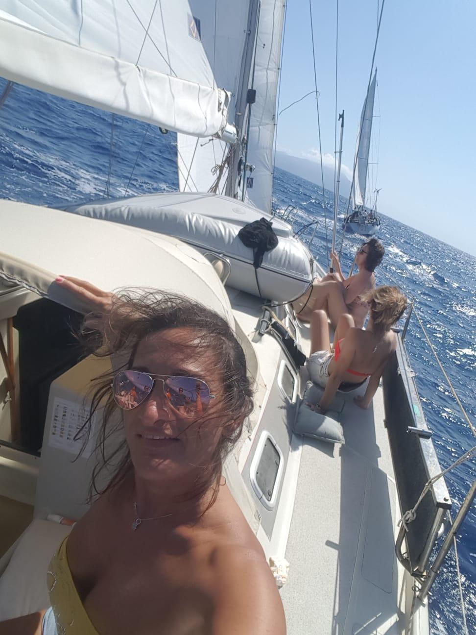 Isola di Capraia in barca a vela 5 e 6 Giugno