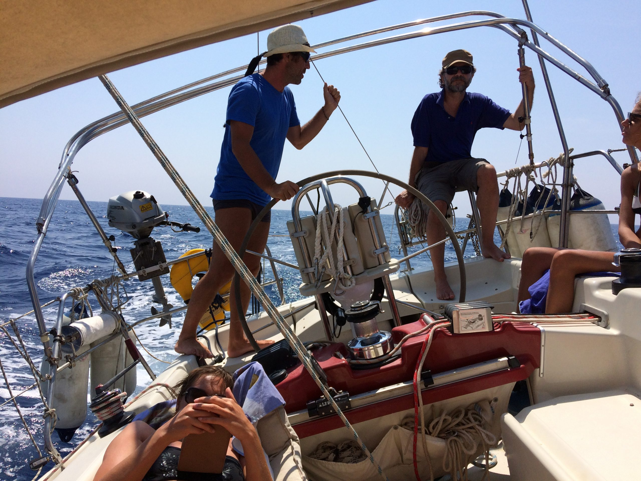 Week end Vela in Capraia 12 e 13 Giugno