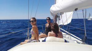 Uscita giornaliera in barca a vela alle secche della meloria