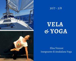 Vacanza vela yoga con asd girasole